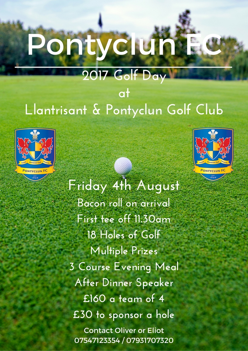 2017 Pontyclun Golf Day